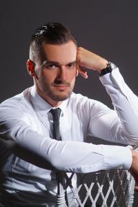üzleti portréfotó