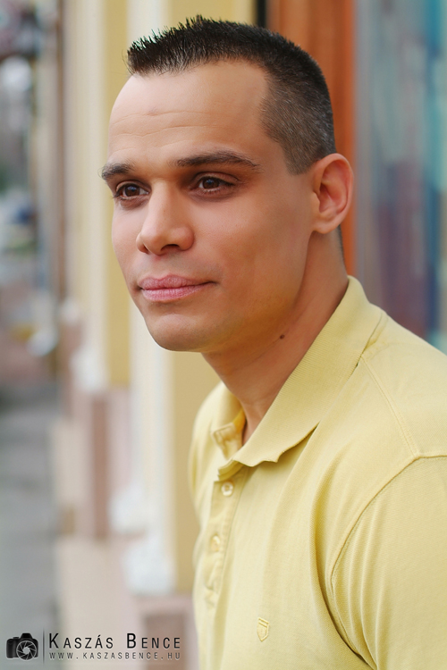 Portréfotó weblapra, kiadványba