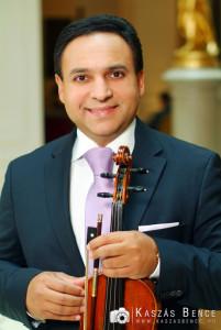 Mága Zoltán hegedű művész