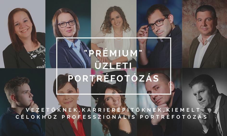 prémium üzleti portréfotózás