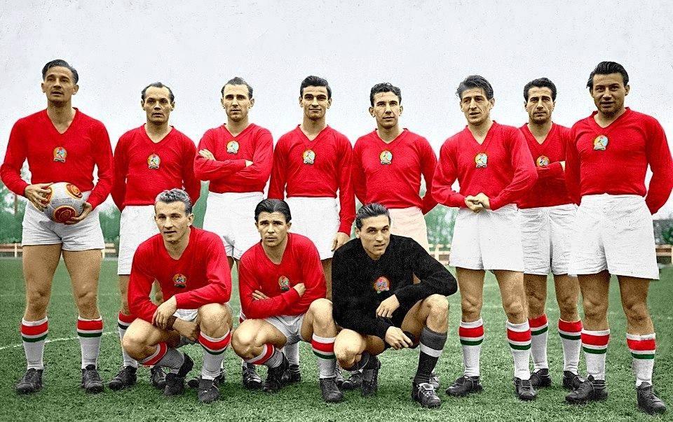 az aranycsapat színes fotója